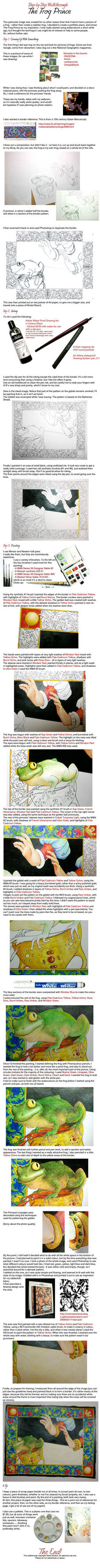 Frog Prince - Walkthrough by Alene