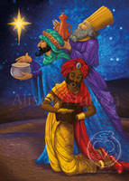 Magi Christmas Card by Alene