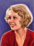 Joan Blondell by Alene