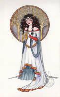 Snow White by Alene
