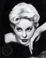 Kim Novak by Alene