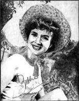 Debbie Reynolds by Alene