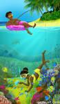 Tropical Island by Alene