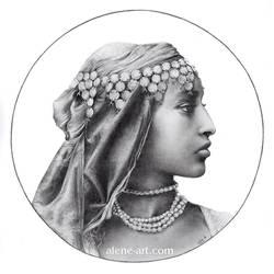 Algerian Girl by Alene