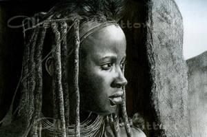 Himba Tribeswoman by Alene