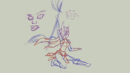 Soraka WIP 3 by altimis