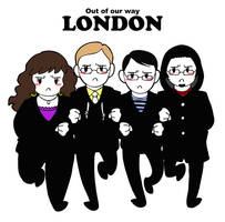 Out of the way London by humon