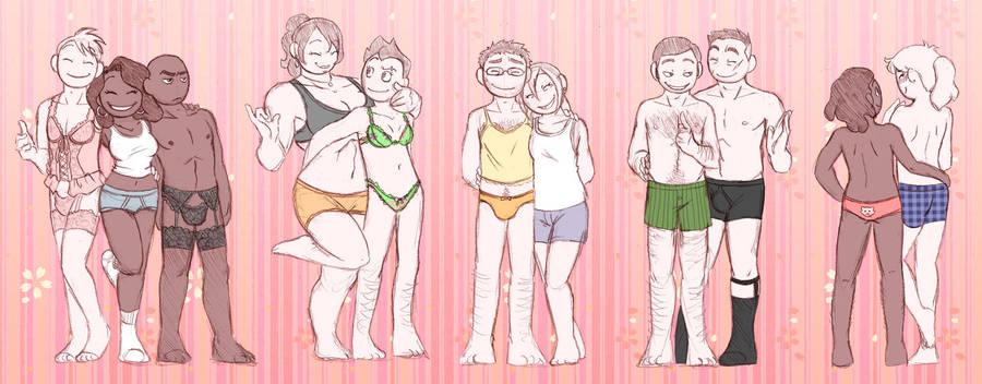 Partner Underwear Swap by humon