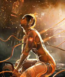 Golden Woman by elianeck