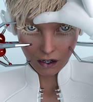 Cyber blonde by elianeck