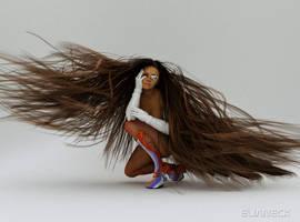 test hair by elianeck