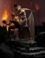 Demons in love... by elianeck