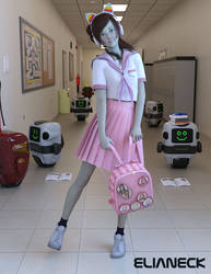 Robot School by elianeck