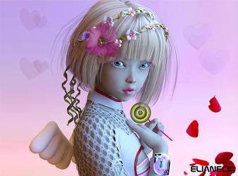 Lollypop face by elianeck