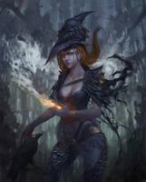 Crow witch by N7U2E