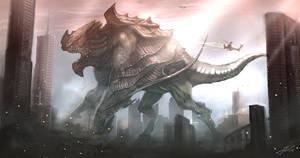 Kaiju Mayhem by JakkeV