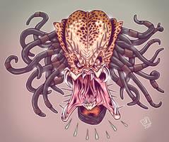 Predator head by JakkeV