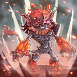 Alien Ogre by JakkeV