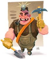 Happy Miner by JakkeV