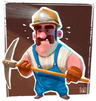 Miner Dude by JakkeV