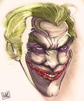 Joker Sketch by JakkeV