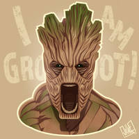 I AM GROOOOOOOOT! by JakkeV