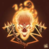 Ghost Rider by JakkeV