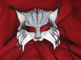 Siberian Lynx Mask by MummersCat