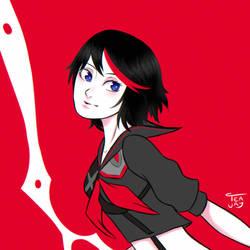 Matoi Ryuko by ArtTeajay