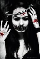 Zombie smile by medulla-oblongatta
