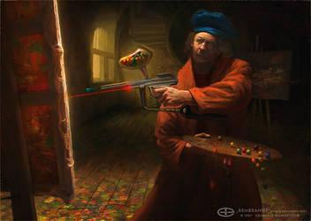 Rembrandt by gedomenas