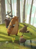 Children book Illustration by gedomenas
