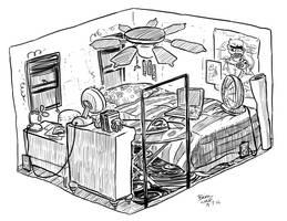 Punked Comic Set Design by BrianDanielWolf