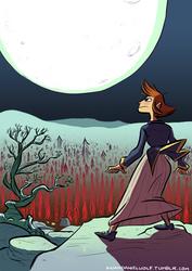 Full Moon Sleepwalk by BrianDanielWolf