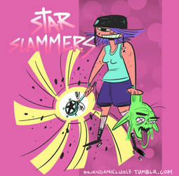 Star Slammers Style Test by BrianDanielWolf