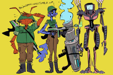 Line-up by BrianDanielWolf
