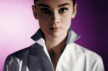 Audry Hepburn Colorised Photo by amiah112