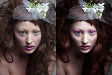 Beauty Retouching - Before After by amiah112