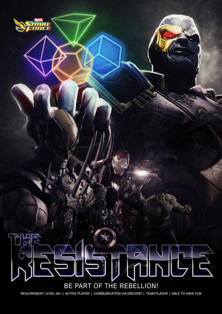Marvel Strike Force Alliance Poster by amiah112
