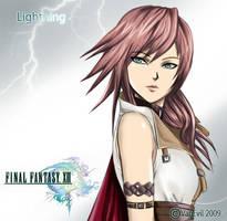 FFXIII Lightning by VanEvil