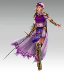 C: Princess Zelda by VanEvil