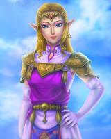 C: OoT Zelda by VanEvil