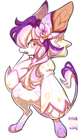 #156 Charity Fornlee w/m - Orchid (FLASH AUCTION) by Kitkabean