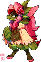 #207 Fornlee - Red Rose (AUCTION) by Kitkabean