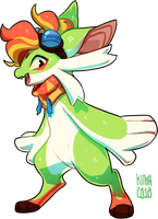 #237 Fornlee - Dragonfly (FSR) by Kitkabean