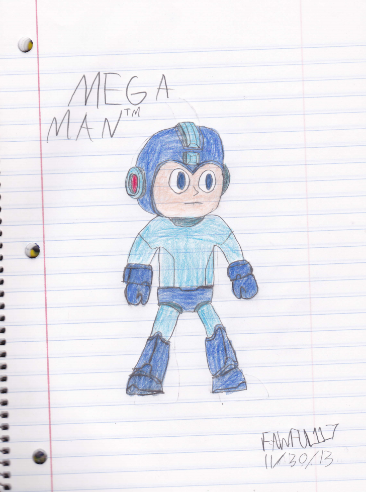 The Super Fighting Robot: Mega Man by Fawful117-the-Epic