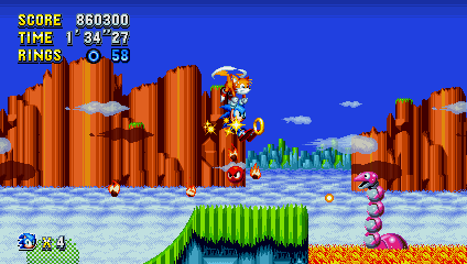 Sonic Mania/Hysteria - Hill Top Zone by Fawful117-the-Epic