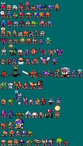 Robot Master Met Complete Lineup (Updated) by Fawful117-the-Epic