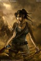 Lara Croft Reborn by nathaliagomes