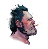 Logan and the savage cigar by VegasDay